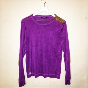 Lauren | Purple long sleeve shirt | XL